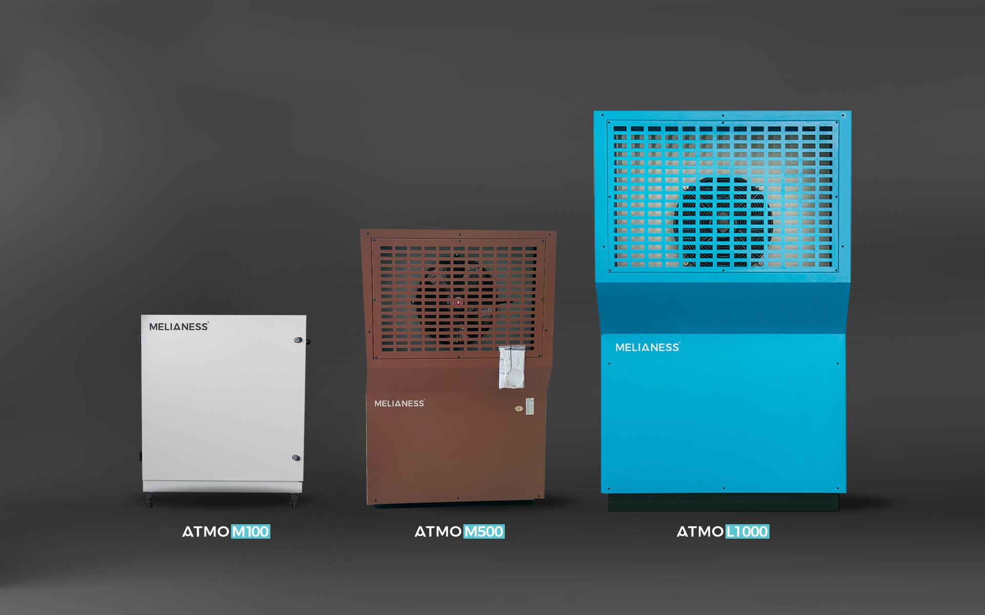 Générateurs d'eau pure de 15 à 10000L/jour